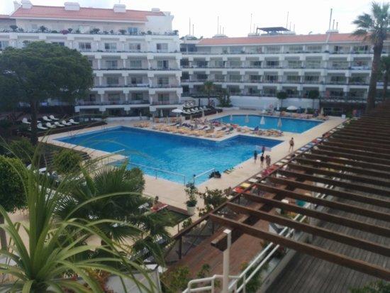 AquaLuz Suite Hotel: POOL VIEW