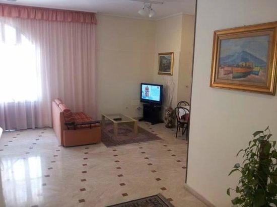 Agathae Hotel Residence : Sala tv