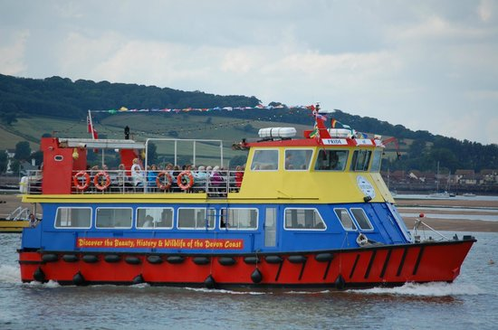 Stuart Line Cruises: Another full passage for Stuart Lines on the River Exe