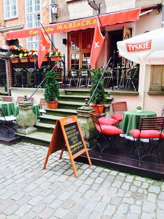 Cafe Mariacka: Bardzo przyjemna restauracja, bardzo smaczna Polska kuchnia i do tego uprzejma obsługa. Polecam!