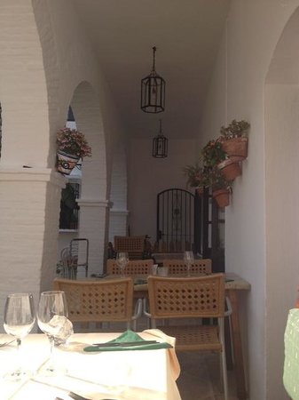 Restaurante Pueblo Lopez : view of the restaurant