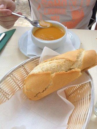 Restaurante Pueblo Lopez : soup of the day