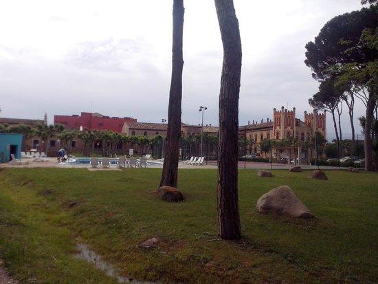 Hotel Balneario Vichy Catalan : JARDIN