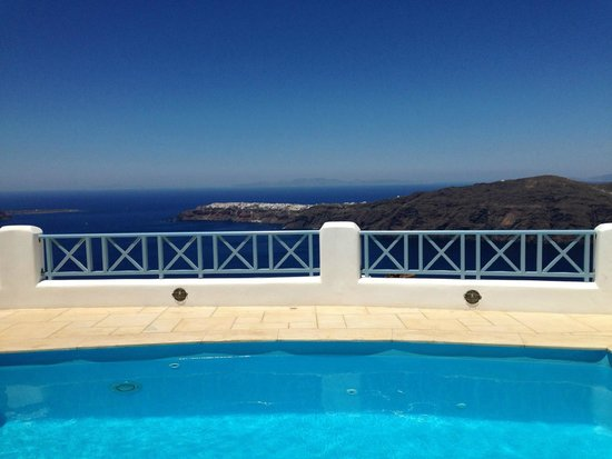 Absolute Bliss Imerovigli Suites: View from the villa