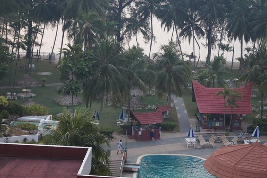 Pangkor Bay View Beach Resort: View from room