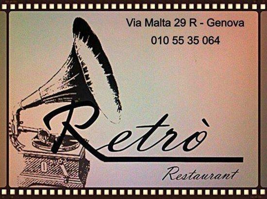 Retro Restaurant : il logo