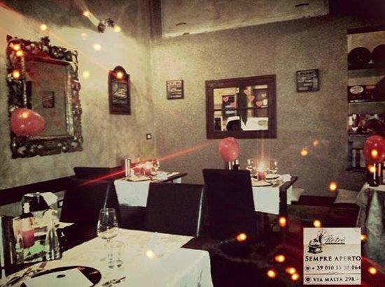 Retro Restaurant : saletta