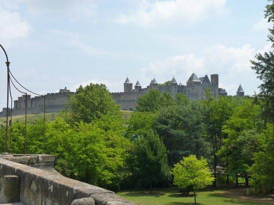 Camping Domaine de la Yole : Carcassone castle