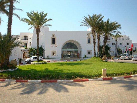 Seabel Aladin Djerba : Entrée de l'Aladin