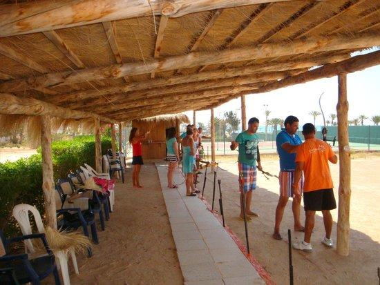 Seabel Aladin Djerba : Tir à l'arc
