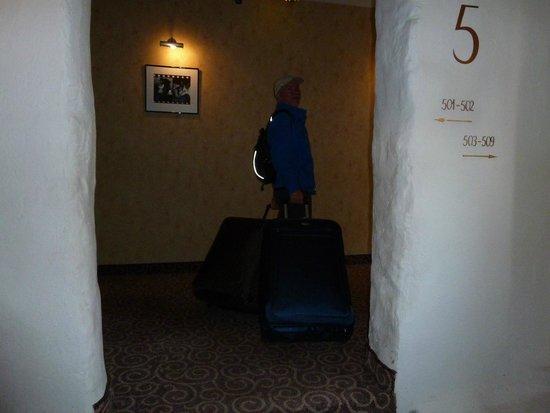 Hotel Justus: hallway
