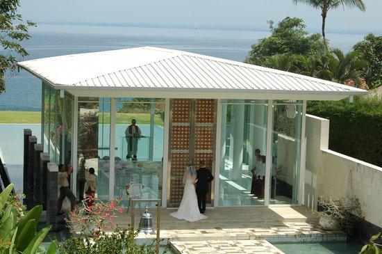 AYANA Resort and Spa Bali: チャペルウェディング