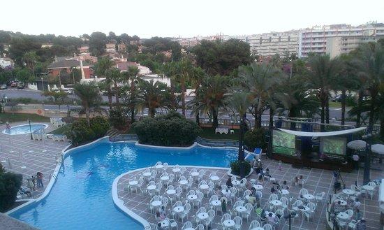 Hotel-Aparthotel Dorada Palace: Vista desde la habitación