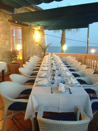 Ola del Mar: la terraza de arriba