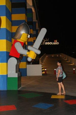 Legoland Malaysia Resort: Legoland Resort back yard