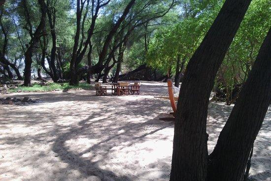 Loyk Tsavo Camp: The Beach