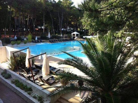 Melia Coral: piscina non molto grande ma tranquilla