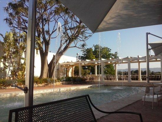 Allegroitalia Siracusa Golf Monasteri: Cortile colazione