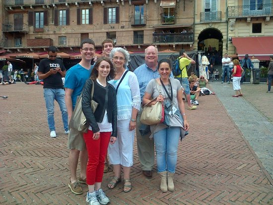 Siena Tours by Barbara: James and his wonderful family during our tour on Music in Siena