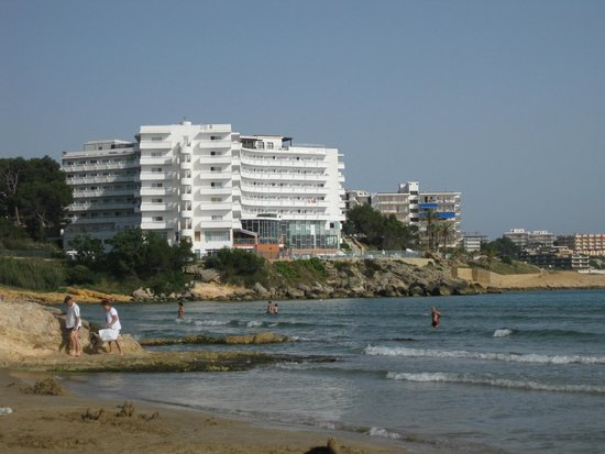 Hotel Best Negresco : hotel negresco, edificio I, visto desde la playa