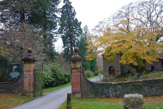 Gliffaes Country House Hotel: Loving the autumn colours