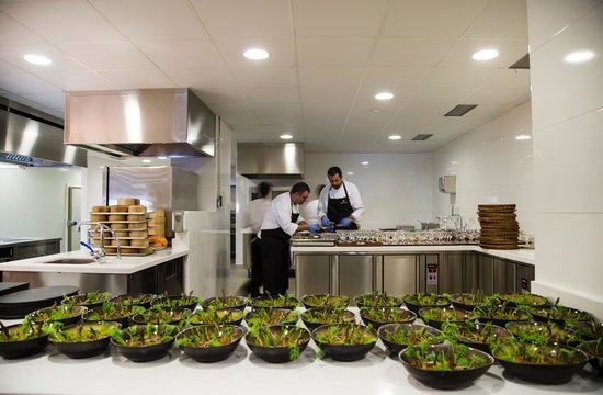 Healthouse Las Dunas Beach Hotel and Spa: chefs in action
