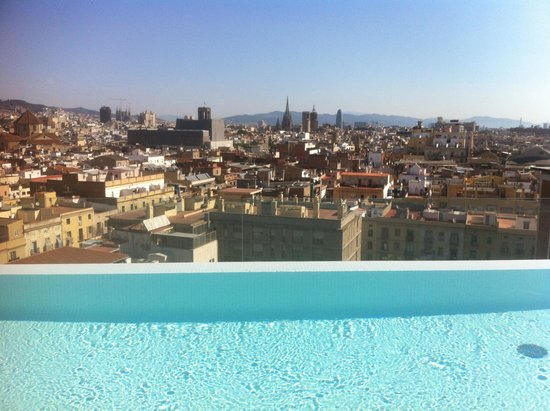 Andante: View from pool