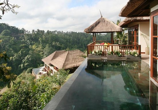The Restaurant at Hanging Gardens Ubud: One of the Vill Suites at Hanging Gardens Ubud hotel