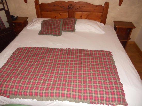 Le Vieux Cep: le lit