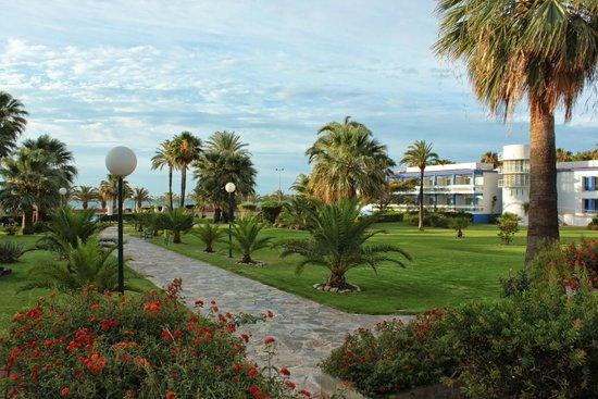 Parador de Benicarló: Magnífico jardín