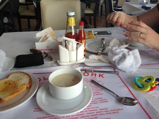 Golden Fork: Complimentary Soup