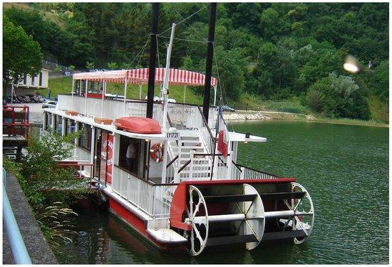 Le pont de saint nazaire en royan photo de bateau roue - Bateau sur roues ...