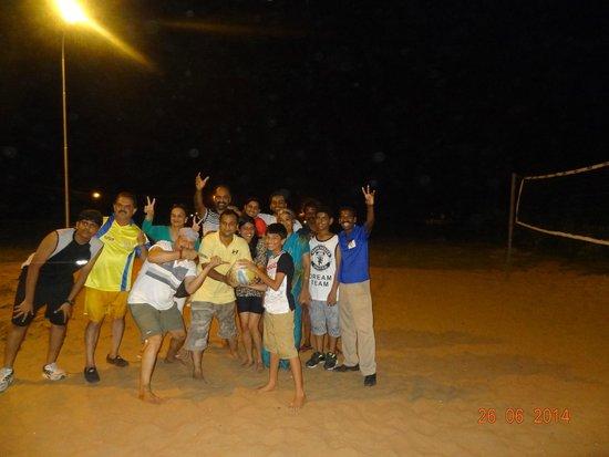 Club Mahindra Puducherry: volley ball / throw ball