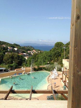 Residence La Pergola : Panorama dalla camera