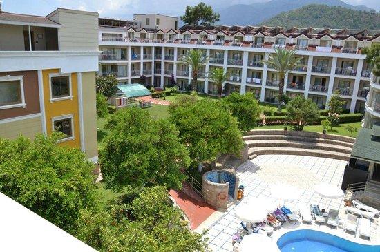 Novia Gelidonya Hotel : вид с балкона