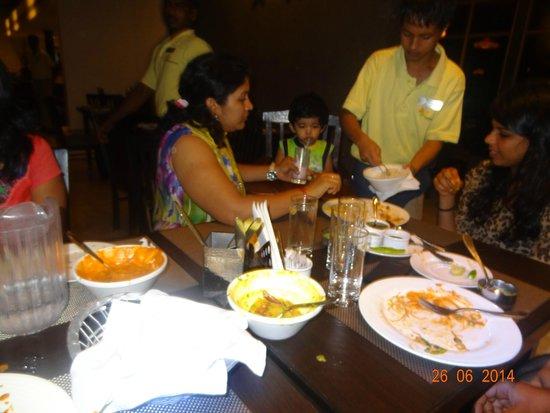 Club Mahindra Puducherry: restaurent