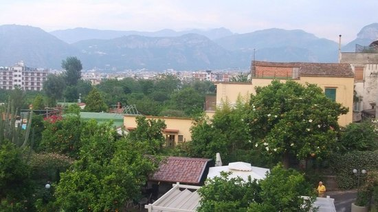 Hotel Girasole : View from room No 37