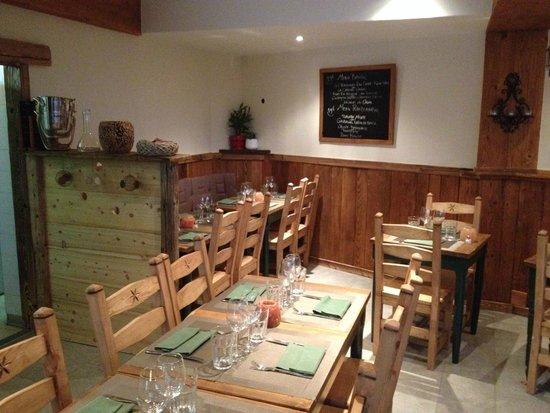 Restaurant le Basilic: nouvelle deco