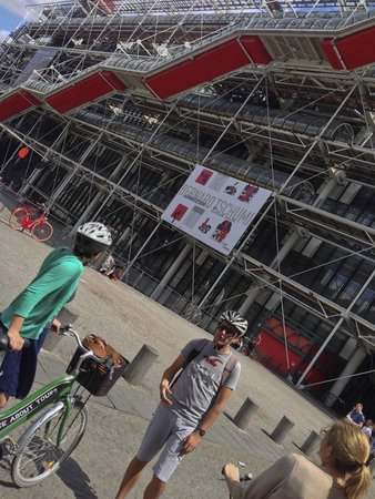 Bike About Tours : Centre Georges Pompidou