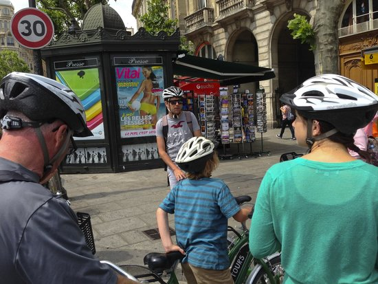 Bike About Tours : At the Start of the Latin Quarter