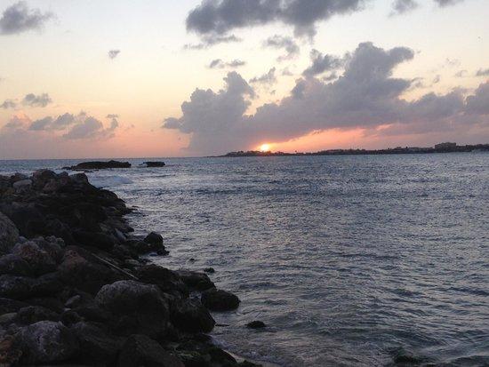 The Villas at Simpson Bay Resort & Marina: Sunset