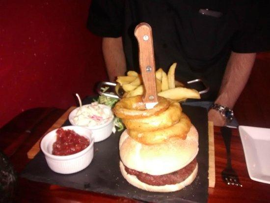 The Lambton Worm: The venison burger
