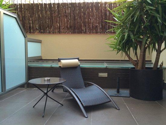 Hotel Constanza Barcelona: テラス