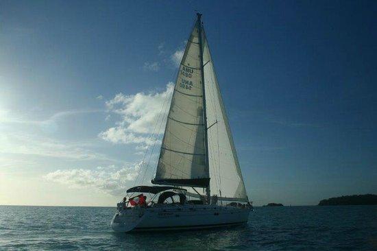 Adventure Caribbean Yacht Charter: Sailing Away.....