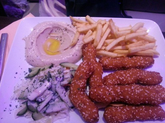 Chez H'Anna : Chicken nuggets and fries and sides