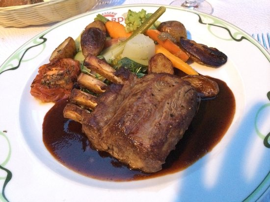 Brasserie Le Cardinal: lamb steak