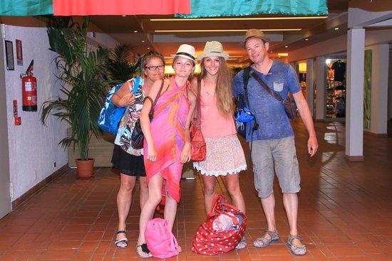 Club Alicudi Hotel : retour de visite dans le hall