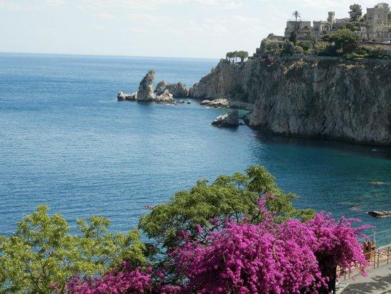 Hotel Isola Bella: VISTA DALLA CAMERA