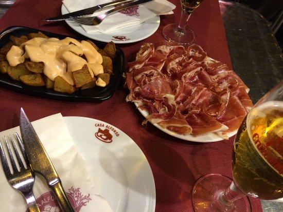 Casa Alfonso : 食事