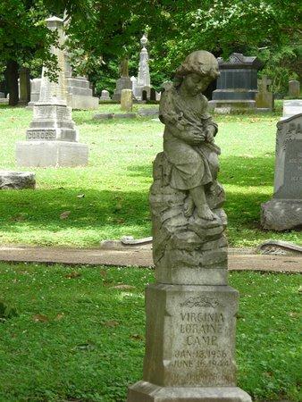 Elmwood Cemetery: Grave monument